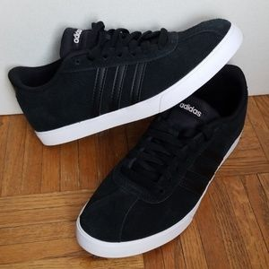 Adidas Suede Classic 3 Stripe Low Top Sneakers